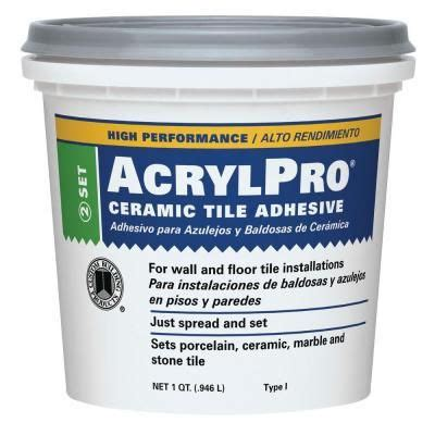 ceramic tile adhesive 1 qt us shipping only a well