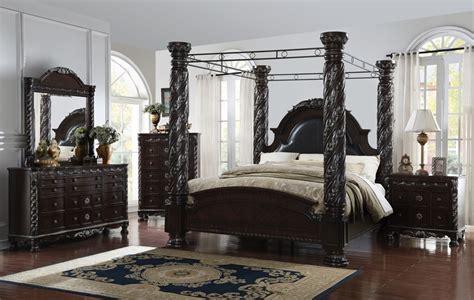 addison canopy bed bedroom set  dallas designer