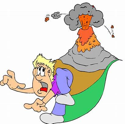 Volcano Clipart Clip Geography Cliparts Geologist Volcan