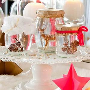 Decoration Table Noel : decoration de table de noel pinterest ~ Melissatoandfro.com Idées de Décoration