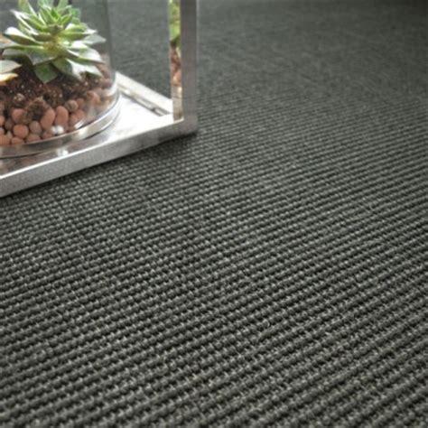 tapis sur mesure sisal yucatan noir