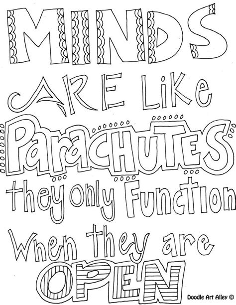 quotes coloring pages printable quotesgram quote