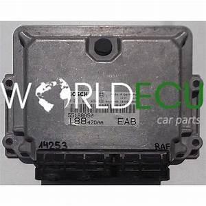 Ecu Engine Controller Fiat Punto Stilo Bosch 0 281 011 494