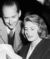 Ingrid Bergman with then husband, Roberto Rossellini ...
