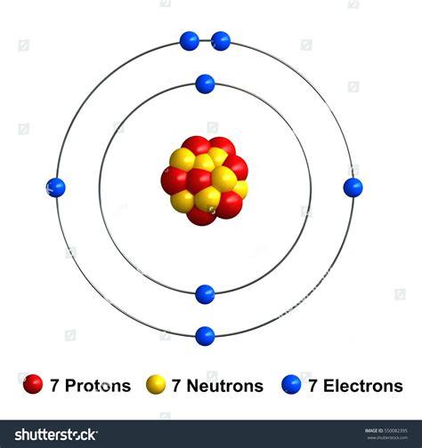 Boron Protons by Diagram Bohr Diagram For Boron