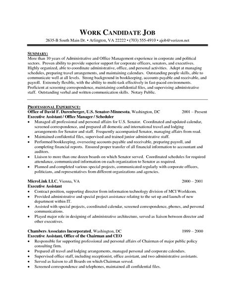 free resume templates for executive assistant 32 job winning executive administrative assistant resume sles vntask com