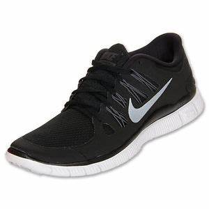Nike Free 5 0 Womens Size Running Shoes Black White Silver