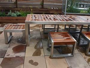 Metal And Wood Outdoor Furniture www pixshark com