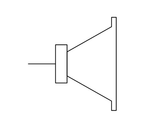 Video Audio Vector Stencils Library Intercom Jack