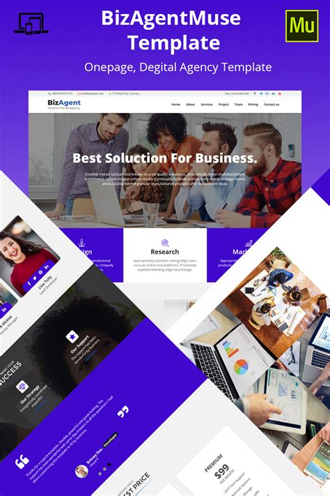 25 Free Muse Templates Creative Website Themes And Muse Themes Templates Image Collections Professional