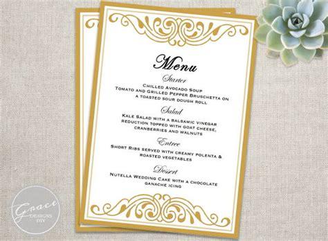 menu card template 6 event menu templates psd vector eps ai illustrator free premium templates