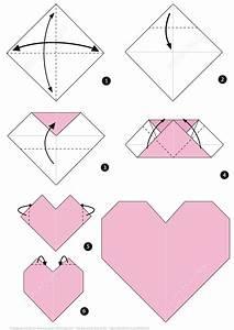 Origami Heart Instructions