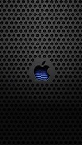 Apple Blue Logo Wallpaper for iPhone X, 8, 7, 6 - Free ...
