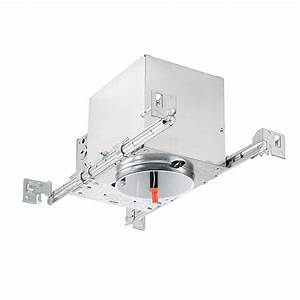 Quot led recessed lighting air tight ic rated housing