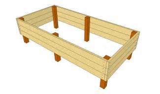 how to build elevated garden beds home garden design