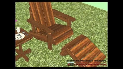 gc garden chair plans  door furniture plans