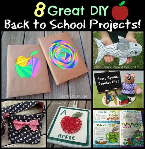 8 Great Diy Back To School Projects
