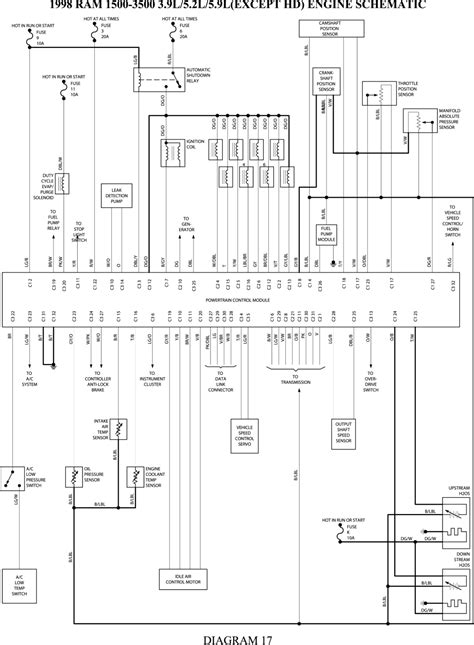 Dodge Dakota Wiring Diagram Electrical Website