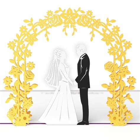 wedding day  pop  card lovepop