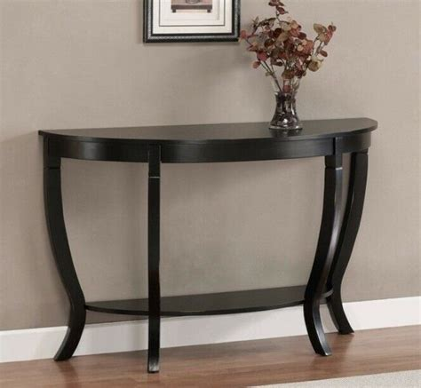 The half moon tables are sold separately delivery estimate of 12 to 14 weeks international shipping. Sofa Table Coffee Half Moon Entryway Modern Wooden Living Room Hallway Buffet | eBay