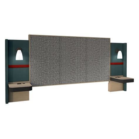 Integrated Headboard Nightstands by King Headboard With Integrated Nightstands And Lights