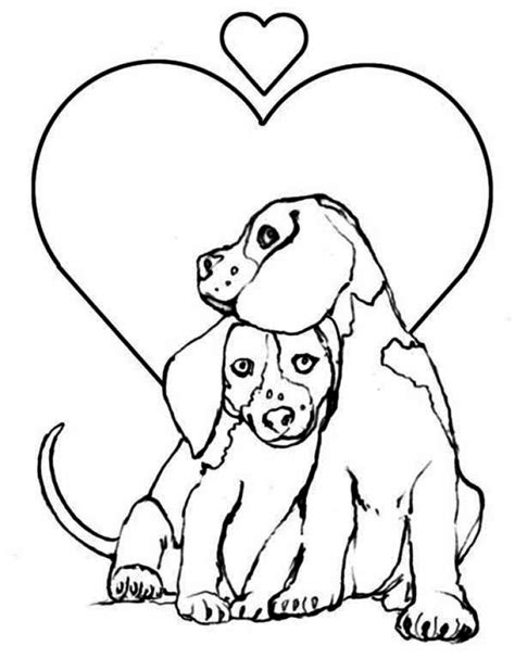 easy preschool printable  puppy coloring pages ryz