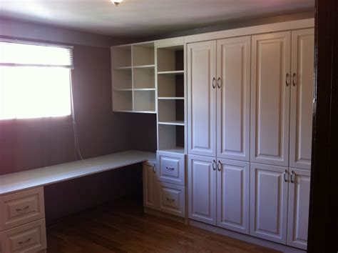 hand crafted custom home office murphy bed  motivo