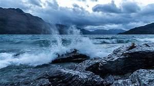 wallpaper, sea, , 5k, , 4k, wallpaper, , ocean, , rocks, , wave