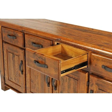 Farmhouse Sideboards And Buffets by Farmhouse Solid Wood Sideboard Rustic Buffet 1 9m Buy