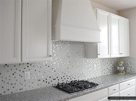 White kitchen tiling ideas, white glass tile kitchen