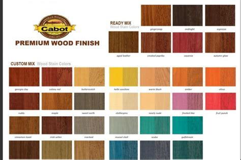 Cabots Deck Stain Colors by Cabot Interior Wood Stain Colors