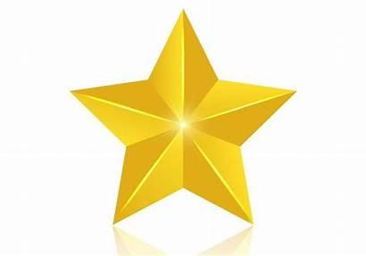 Star 3d Gold Golden Vector Psd Estrella