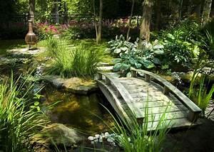 Jeux D Eau Jardin : j 39 adore le principe du jardin d 39 eau avec un petit pont zen ~ Melissatoandfro.com Idées de Décoration