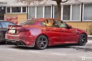 Alfa Romeo Giulia Quadrifoglio Occasion : alfa romeo giulia quadrifoglio 11 february 2017 autogespot ~ Gottalentnigeria.com Avis de Voitures