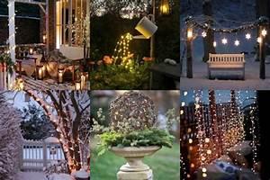 Weihnachtliche Deko Für Den Garten : weihnachtliche lichterdeko f r den garten ~ Eleganceandgraceweddings.com Haus und Dekorationen