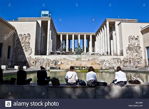 musee d moderne de la ville de city museum of modern stock photo royalty free