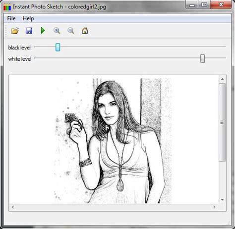 sketch design software instantphotosketch free and software reviews