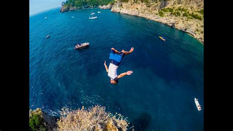 cliff jumping italy creating a contiki legend in 4k youtube