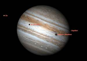 See Moon Shadows on Jupiter