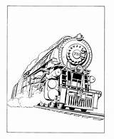 Coloring Train Steam Engine Trains Printable Locomotive Sheets Hogwarts Railroad Drawings Colouring Drawing History Engines Activity Locomotives James Adult Different sketch template