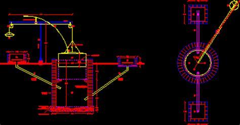 biodigestor anaerobic dwg block  autocad designs cad