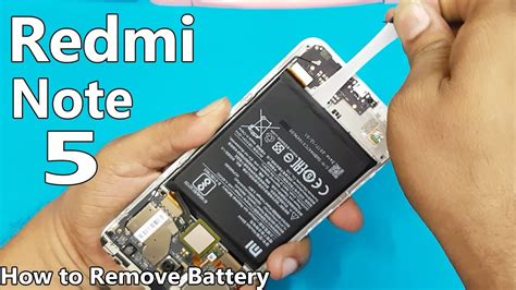 Xiaomi Redmi Note 5 Battery Replacement || How To Remove