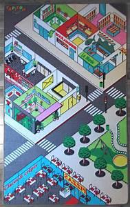Tapis Jeu Enfant : tapitom tapis enfant ville 130 x 200 cm ~ Teatrodelosmanantiales.com Idées de Décoration