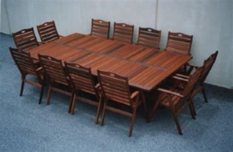 12 seater outdoor table fairlie 12 x seater table timber outdoor furniture perth