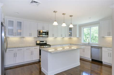 S8 White Shaker COLLECTION   J&K Cabinets