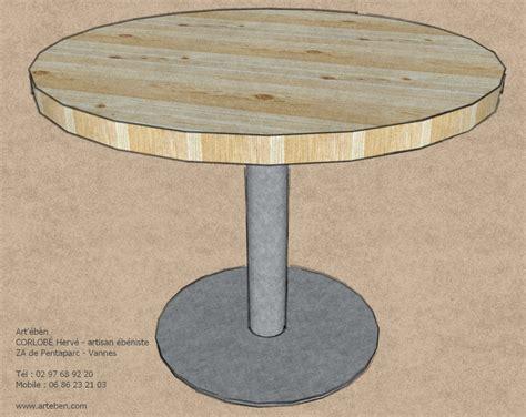 table ronde esprit industrielart 233 b 232 n