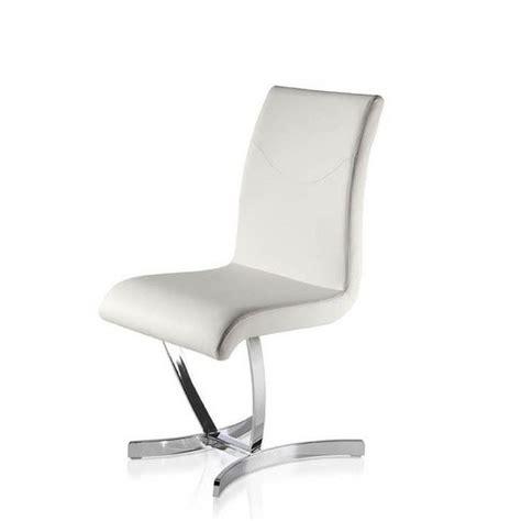 chaise salle à manger design chaises salle à manger design blanches chaise idées de