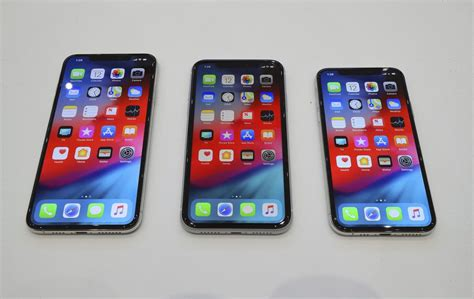 apple introduces three new iphones xs xs max and xr synergy mobile