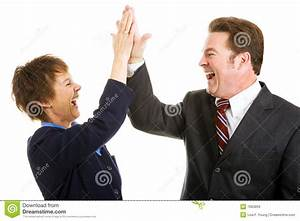 Business High Five Royalty Free Stock Images - Image: 7683859