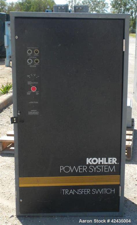 kohler automatic transfer switch model